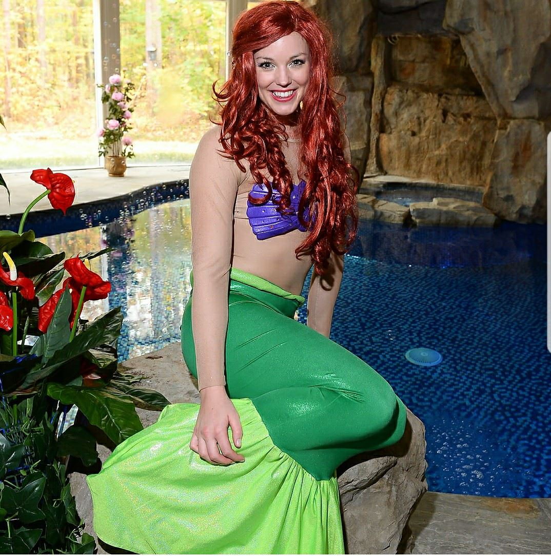 THE LITTLE MERMAID PRINCESS PARTY - 2