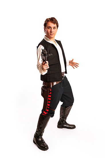 Han Solo Parody Party Character - 3