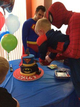 Superman and Spider-Man Birthday Ceremony | Group Superhero Party