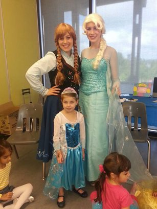 Queen Elsa and Princess Anna | Princess Party