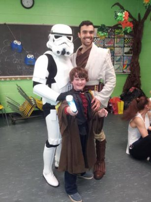 Storm Trooper and Jedi | Star Warrior Party