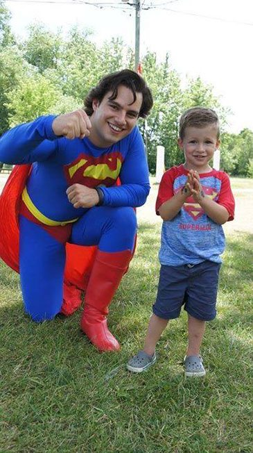 Superman Photo Op | Superhero Party