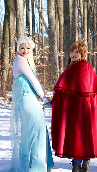 ELSA AND ANNA PARODY PARTY - 3