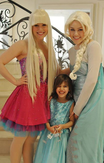 Barbie and Elsa Photo Op | Group Princess Party