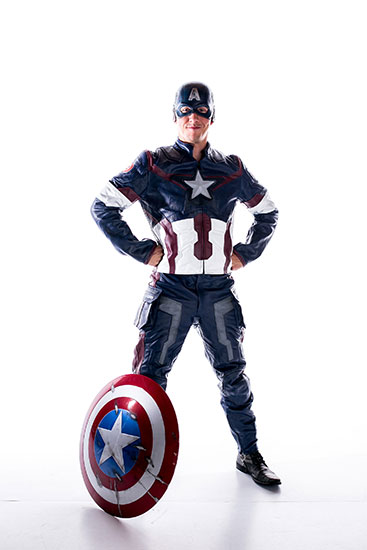 Captain America Parody Party Character - 3