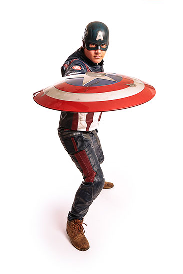 Captain America Parody Party Character - 2