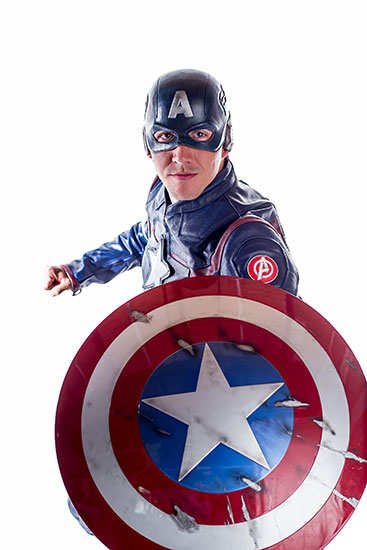 Captain America Parody Party Character - 1