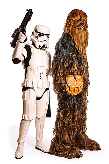 Chewbacca Parody Party Character - 1