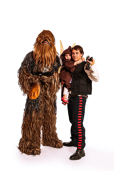 Chewbacca Parody Party Character - 2