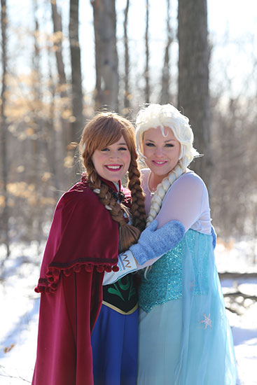 ELSA AND ANNA PARODY PARTY - 2