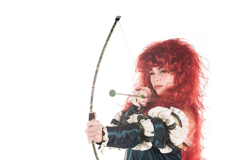 MERIDA PARODY PARTY CHARACTER - 1
