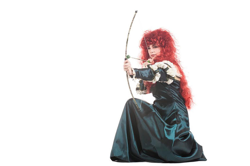 MERIDA PARODY PARTY CHARACTER - 3