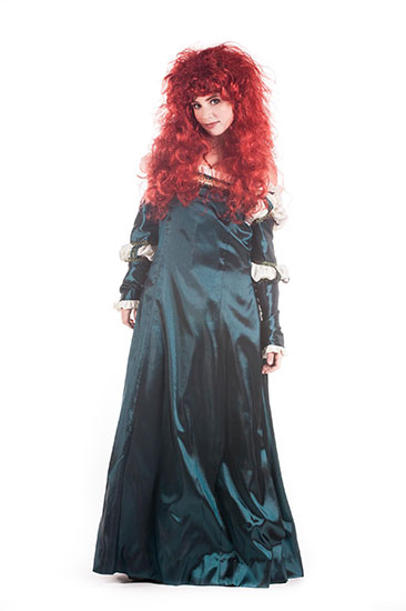 MERIDA PARODY PARTY CHARACTER - 2