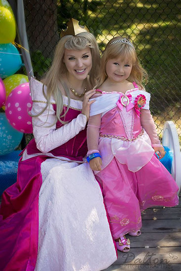 SLEEPING BEAUTY PRINCESS PARTY - 2