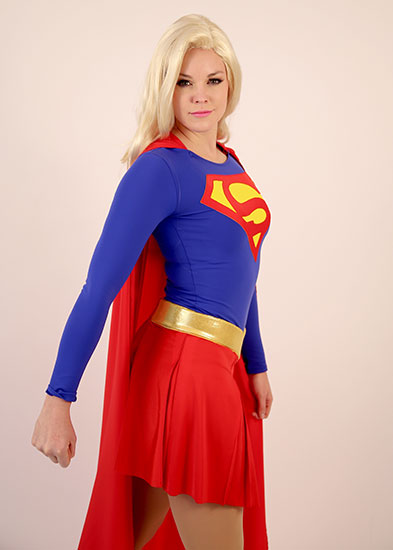 Super Girl Parody Party Character - 2