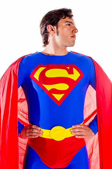 Superman Parody Party Character - 3