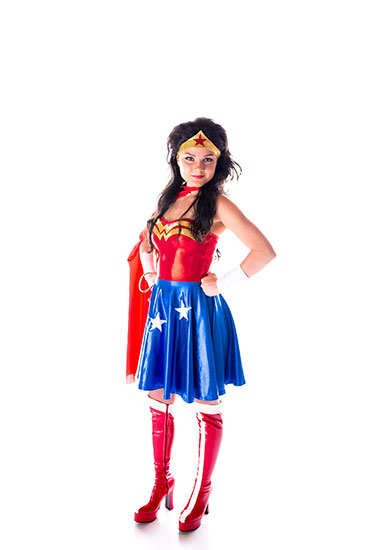 Wonder Woman Parody Party Character - 3