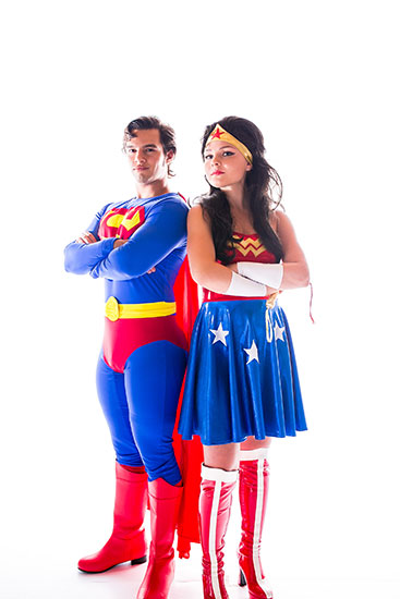 Wonder Woman Parody Party Character - 4