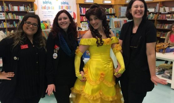 Belle Makes a Magical Visit to Indigo Books